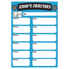 Big Magnetic Today's Objectives Chart