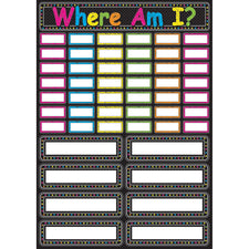 Chalk Where Am I? Mini Magnetic Set