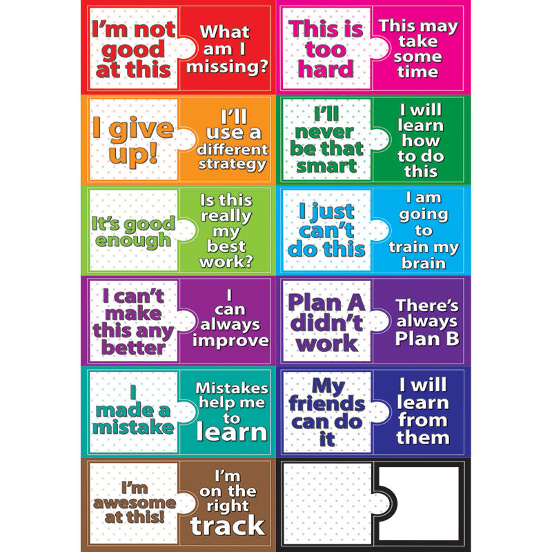 Growth Mindset Mini Magnetic Set