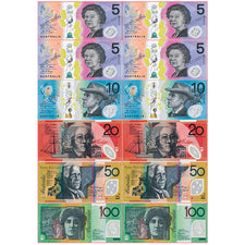 Die-Cut Magnetic Australian Dollars
