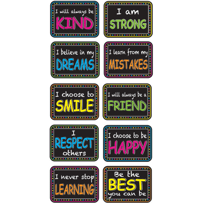 Character Building Mini Whiteboard Erasers, 10 Pack
