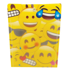 "Emoji 10"" x 13"" Poly Pocket"