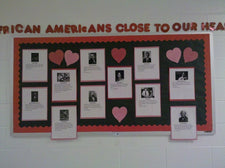 African Americans Close To Our Hearts! - Black History Month Display