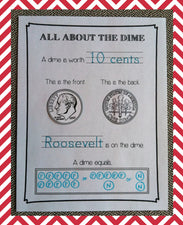 All About Coins - Presidents' Day Printables