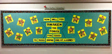 How Will You Awaken the Force Bulletin Board Idea