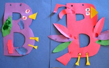 B is for... - Literacy Center Craftivity