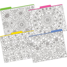 Color Me! In My Garden File Folders