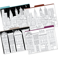 Color Me! Cityscapes File Folders