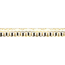 Gold Coins Double-Sided Bulletin Board Border