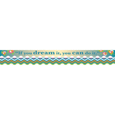Splash of Color Double-Sided Bulletin Board Border