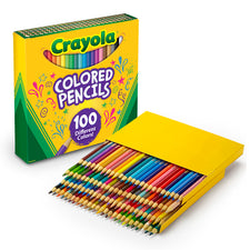 Crayola Colored Pencils, 100 Assorted Colors
