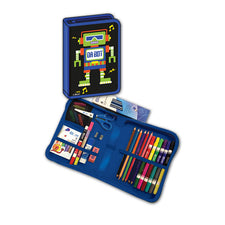 Da Bot Robot All-In-One School Supplies Carrying Case