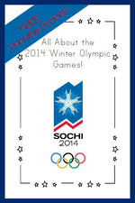 FREE Printable Booklet - All About the Winter Olympics!