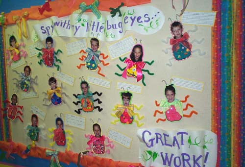 Quot I Spy With My Little Bug Eyes Quot Spring Bulletin Board