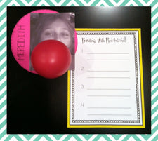 Bursting with New Years Resolutions Activity & Bulletin Board