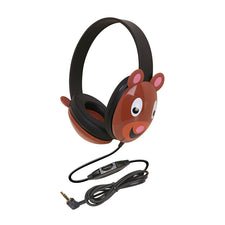 Listening First™ Stereo Headphones (Wired), Bear