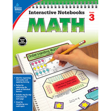 Interactive Notebooks Math Resource Book, Grade 3