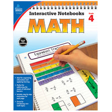 Interactive Notebooks Math Resource Book, Grade 4