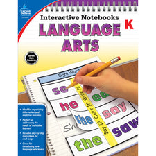 Interactive Notebooks Language Arts Resource Book, Grade K