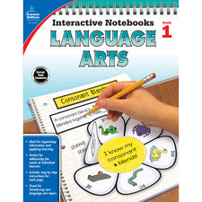 Interactive Notebooks Language Arts Resource Book, Grade 1