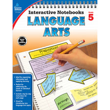 Interactive Notebooks Language Arts Resource Book, Grade 5