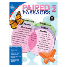 Paired Passages Workbook, Grade 2