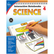 Interactive Notebooks: Science Resource Book, Grade 4