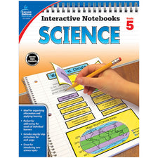 Interactive Notebooks: Science Resource Book, Grade 5