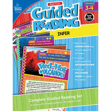 Guided Reading: Infer Resource Book, Grades 3-4