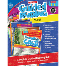 Guided Reading: Infer Resource Book, Grades 5-6