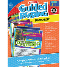 Guided Reading: Summarize Resource Book, Grades 3-4