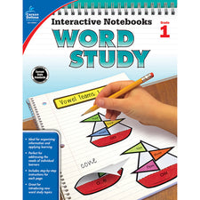 Interactive Notebooks: Word Study Resource Book, Grade 1