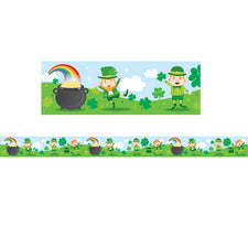 St. Patrick's Day Straight Bulletin Board Borders