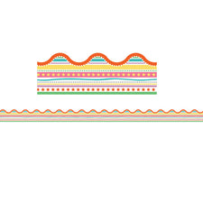 Up and Away Star Fair Scalloped Bulletin Board Borders