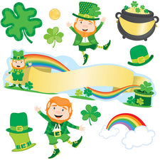 St. Patrick's Day Mini Bulletin Board Set