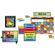 Celebrate Learning Calendar Bulletin Board Set