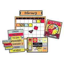 Aim High Calendar Bulletin Board Set