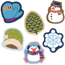 Winter Mix Mini Cut-Outs