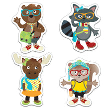 Hipster Pals Cut-Outs