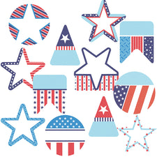Stars and Stripes Cut-Outs