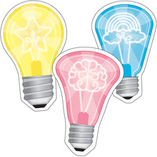 Light Bulbs Colorful Cut-Outs®