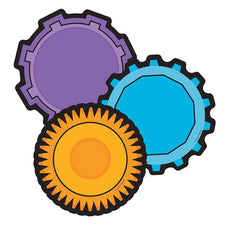 Gears Colorful Cut-Outs®