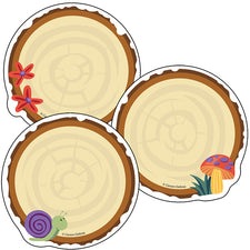 Nature Explorers Wood Slices Colorful Cut-Outs®