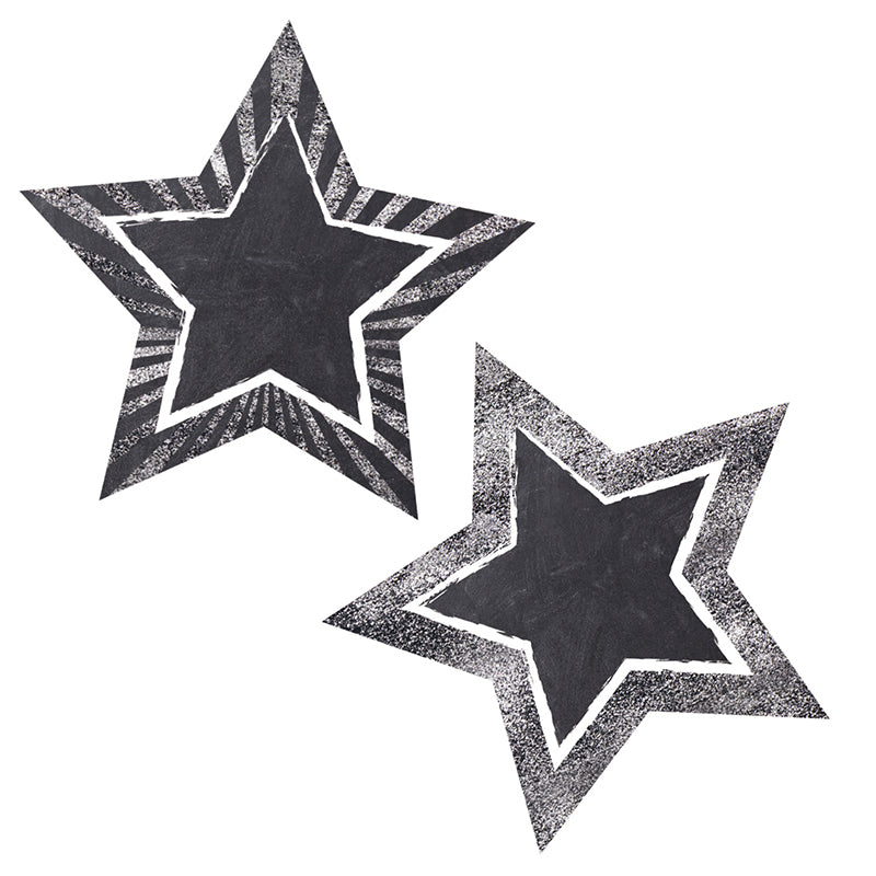Twinkle Twinkle You're A STAR! Chalkboard Stars Colorful Cut-Outs®
