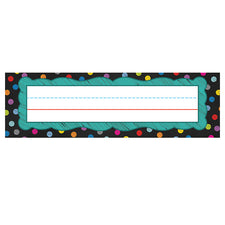 Colorful Chalkboard Nameplates