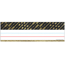 Sparkle and Shine Gold Glitter Arrows Nameplates