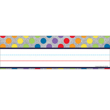 Sparkle and Shine Rainbow Dots on Glitter Nameplates