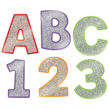 "Sparkle and Shine Colorful Glitter 4"" EZ Letters Combo Pack"