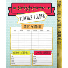 Aim High Substitute Teacher Folder