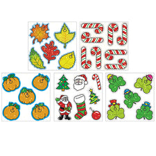 Holiday Dazzle Sticker Set